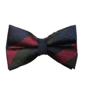 Black Watch Silk Non Crease (Pretied) Bow Tie - regimentalshop.com