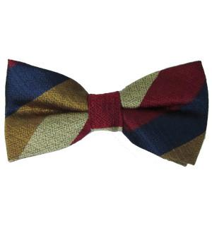 Royal Regiment of Fusiliers Association Silk Non Crease (Pretied) Bow Tie - regimentalshop.com
