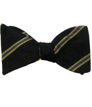 3 Batt. Royal Anglian Regiment (Steelbacks) Silk Non Crease Self Tie Bow Tie - regimentalshop.com
