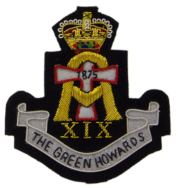 The Green Howards Blazer Badge - regimentalshop.com
