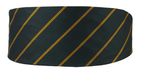 Devonshire and Dorset Regiment Silk Non Crease Cummerbund - regimentalshop.com