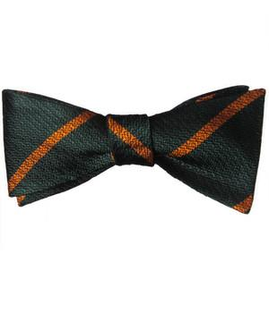 Devonshire and Dorset Regiment Silk Non Crease (Self Tie) Bow Tie - regimentalshop.com