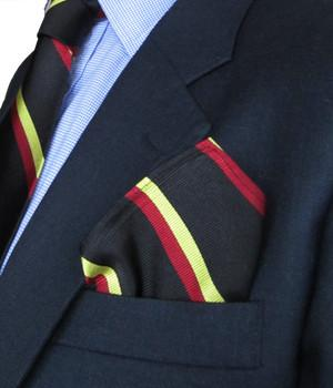 1st Batt. Royal Anglian Regiment Silk Pocket Square - regimentalshop.com