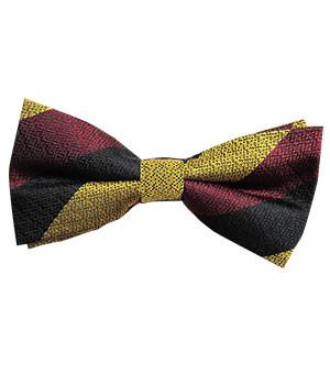 Prince of Wales's Own Regiment of Yorkshire Silk Non Crease Pretied Bow Tie - regimentalshop.com