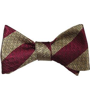 Cheshire Regiment Silk Non Crease (Self Tie) Bow Tie - regimentalshop.com