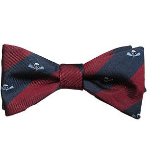 Guards Para Platoon Silk (Self Tie) Bow Tie - regimentalshop.com