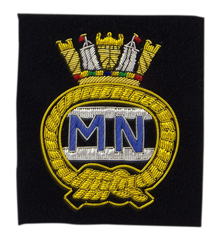 Merchant Navy Blazer Badge