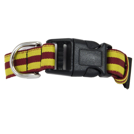 9th/12th Royal Lancers Dog Collar - regimentalshop.com