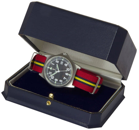 Royal Artillery Stable Belt Military Watch - regimentalshop.com