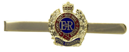 Royal Engineers Tie Clip/Slide - regimentalshop.com