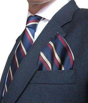 2nd Battalion Royal Anglian Silk Pocket Square - regimentalshop.com