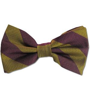 Royal Northumberland Fusiliers Polyester (Pretied) Bow Tie - regimentalshop.com