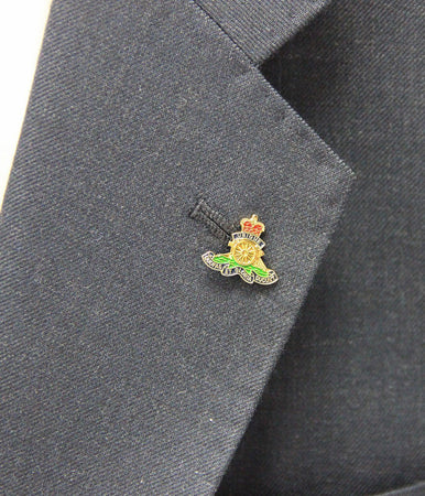 Royal Artillery Lapel Badge - regimentalshop.com