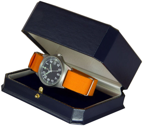 Military Watch Orange Watchstrap
