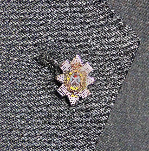 Black Watch Lapel Badge - regimentalshop.com