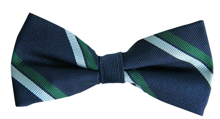 Royal Corps of Signals Silk (Pretied) Bow Tie - regimentalshop.com