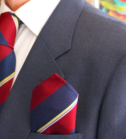 Royal Army Pay Corps Silk Pocket Square - regimentalshop.com