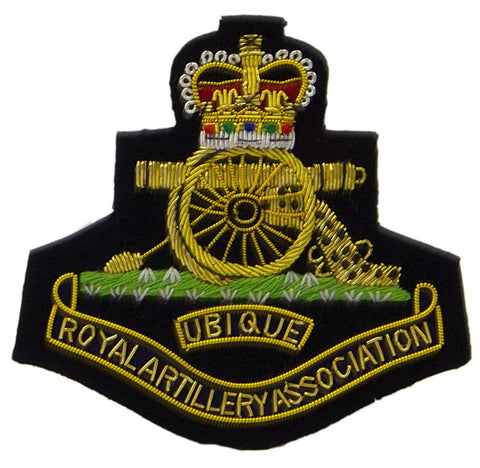 Royal Artillery Association Blazer Badge - regimentalshop.com