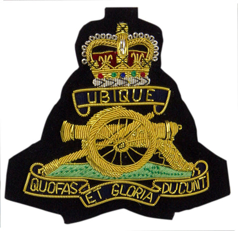 Royal Artillery Queen's Crown Blazer Badge