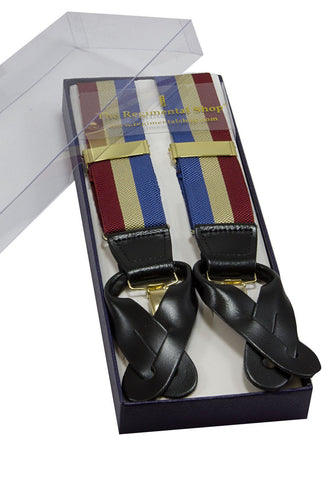 Queen's Dragoon Guards Subaltern Group Braces - regimentalshop.com