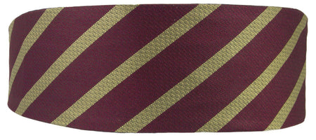 9th/12th Royal Lancers Silk Non Crease Cummerbund - regimentalshop.com