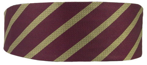 9/12 Royal Lancers Silk Non Crease Cummerbund