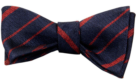 Royal Military Police Silk Non Crease Self Tie Bow Tie