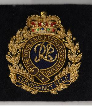 Royal Engineers Association Blazer Badge - regimentalshop.com