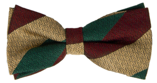 Mercian Regiment Silk Non Crease (Pretied) Bow Tie - regimentalshop.com