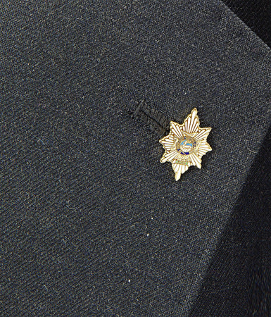 Worcestershire & Sherwood Foresters Lapel Badge
