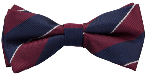1st Queens Dragoon Guards Polyester (Pretied) Bow Tie