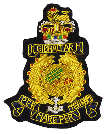 Royal Marines Blazer Badge - regimentalshop.com