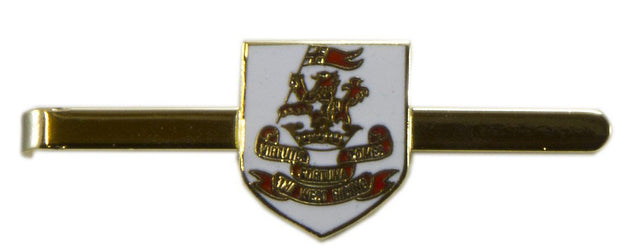 Duke of Wellington's Regiment Tie Clip/Slide - regimentalshop.com