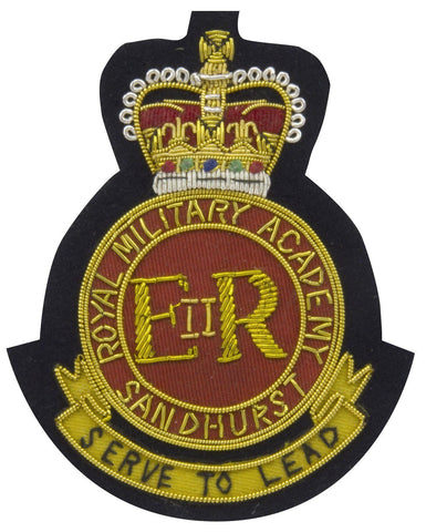 Sandhurst Blazer Badge
