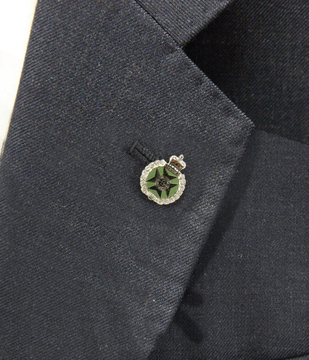 Royal Green Jackets  Lapel Badge - regimentalshop.com