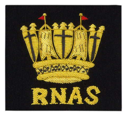 Royal Naval Air Service Blazer Badge