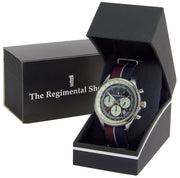 Queen's Dragoon Guards Military Chronograph Watch - regimentalshop.com