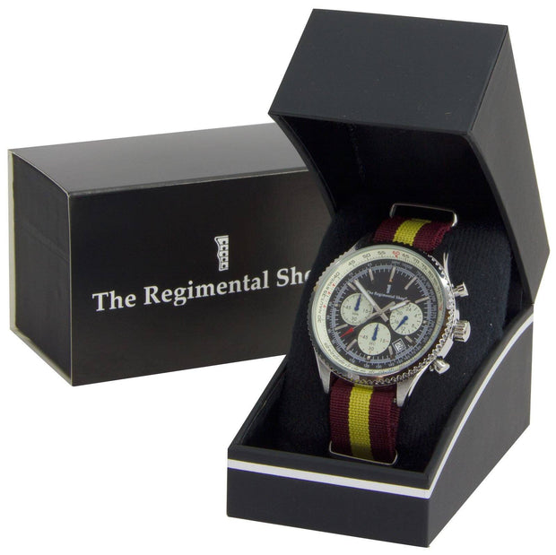 Royal Regiment of Fusiliers Military Chronograph Watch - regimentalshop.com