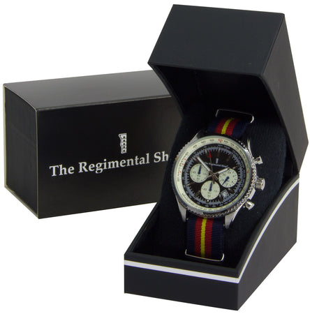 Royal Anglian Regiment Chronograph Watch - regimentalshop.com