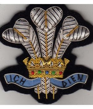 Royal Regiment of Wales Blazer Badge - regimentalshop.com