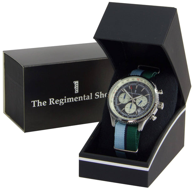 Royal Corps of Signals Military Chronograph Watch - regimentalshop.com