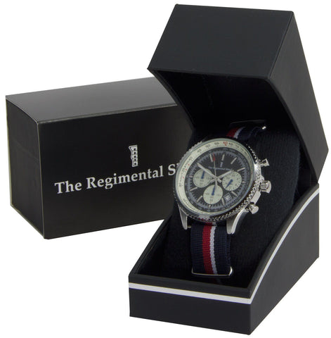 Royal Navy Military Chronograph Watch