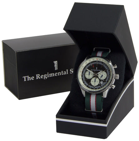 Intelligence Corps Military Chronograph Watch - regimentalshop.com
