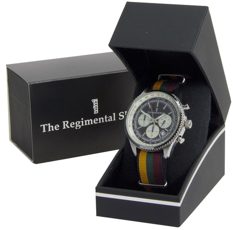 Duke of Lancaster's Regiment Military Chronograph Watch