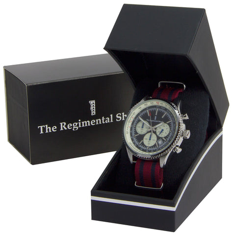 Royal Engineers Military Chronograph Watch