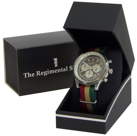 Mercian Regiment Military Chronograph Watch - regimentalshop.com