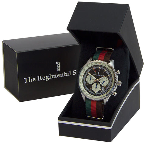 Royal Tank Regiment Military Chronograph Watch