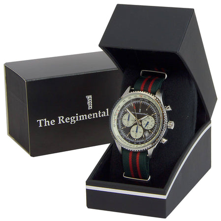 The Rifles Military Chronograph Watch - regimentalshop.com