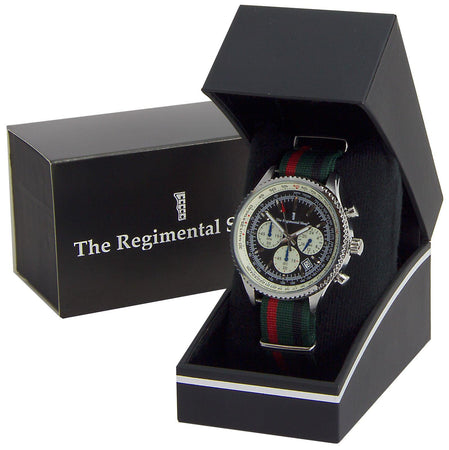 Royal Green Jackets Military Chronograph Watch - regimentalshop.com