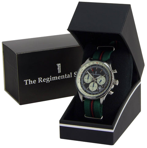 The Yorkshire Regiment Military Chronograph Watch